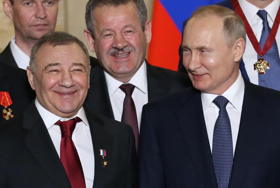 Russian President Vladimir Putin visits Sevastopol