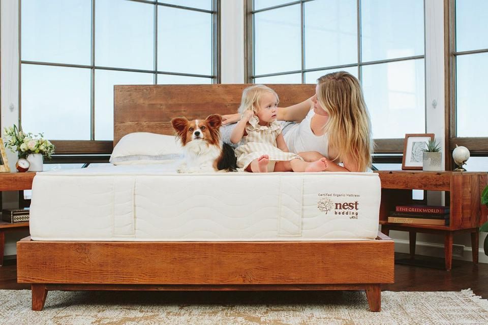 Arcadian Bed Frame in Raw