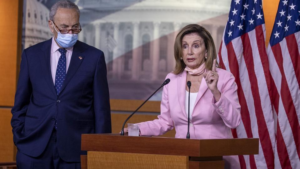 Speaker Pelosi Holds Weekly Press Briefing