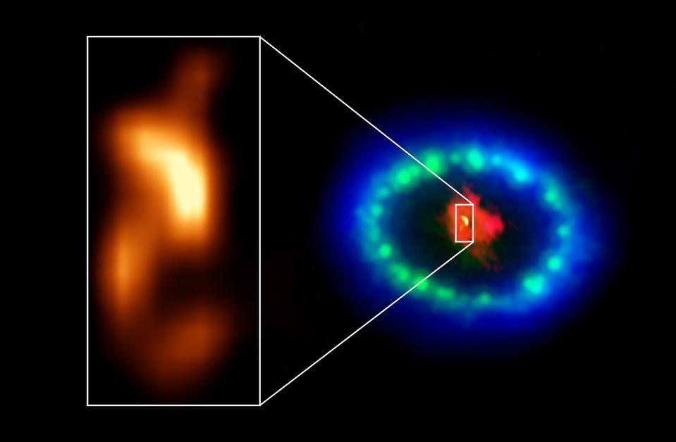 Imágenes de ALMA de alta resolución revelaron una