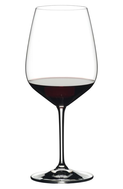 Reidel red wine glass