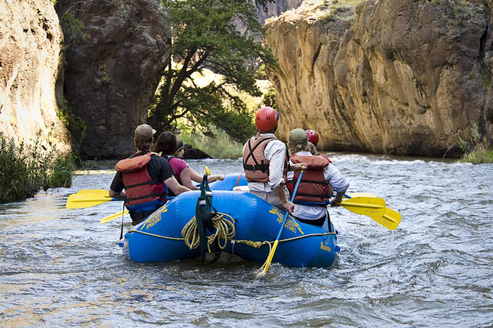 Rafting with Far and Away Adventures, Idaho