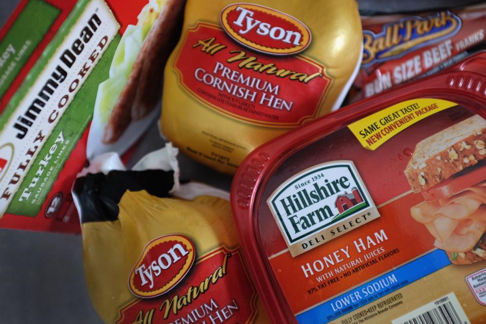 Tyson Foods Makes Offer For Hillshire Brands