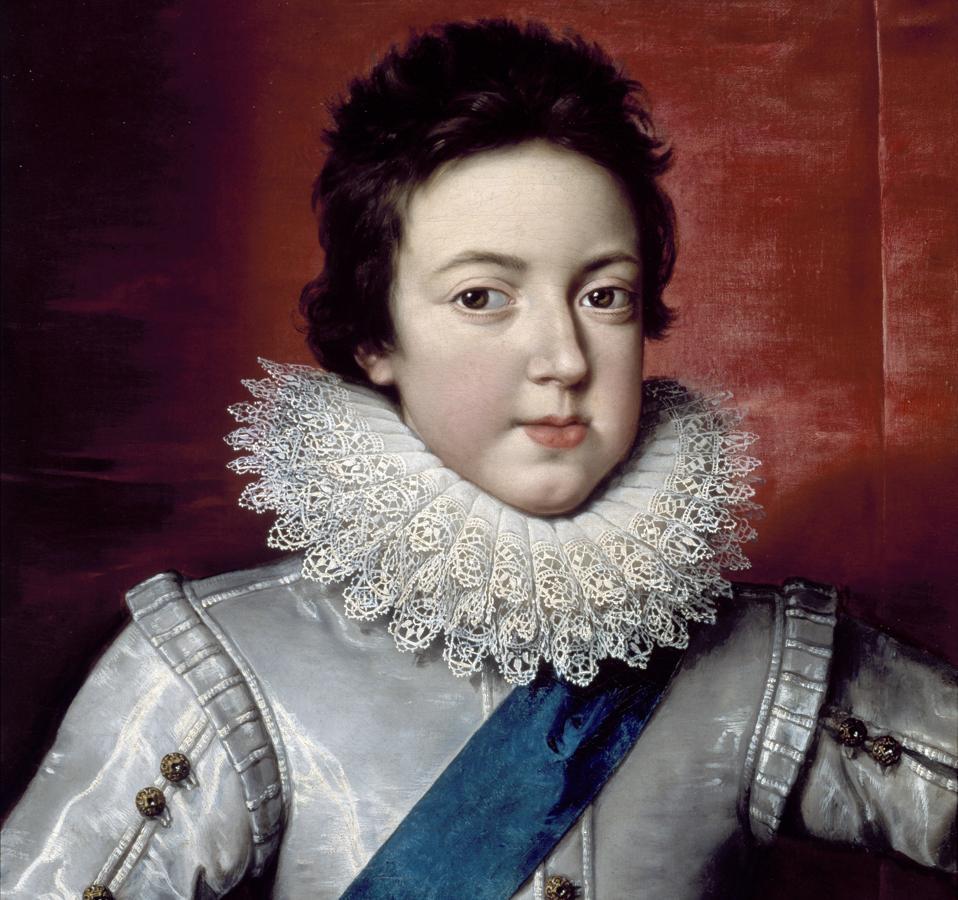 Portrait of Louis XIII as a Boy by Frans Pourbus the Younger, Florence, Hôtel d'Hercule