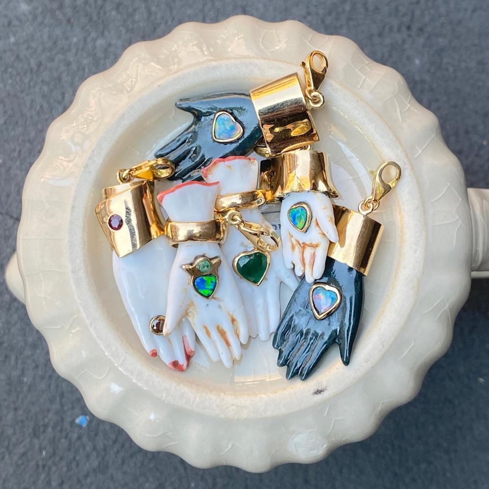 bowl of charms