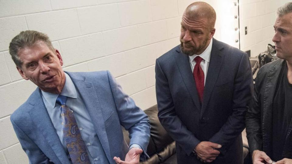 Vince McMahon was grilled about WWE's sinking viewership.