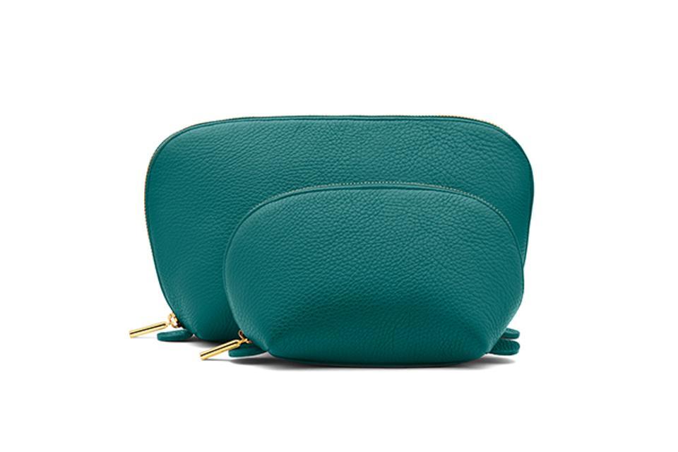 Cuyana Leather Travel Case Set