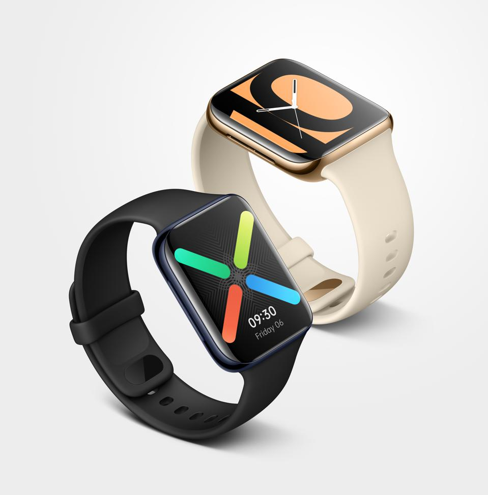 The new Oppo Watch in 46mm size.