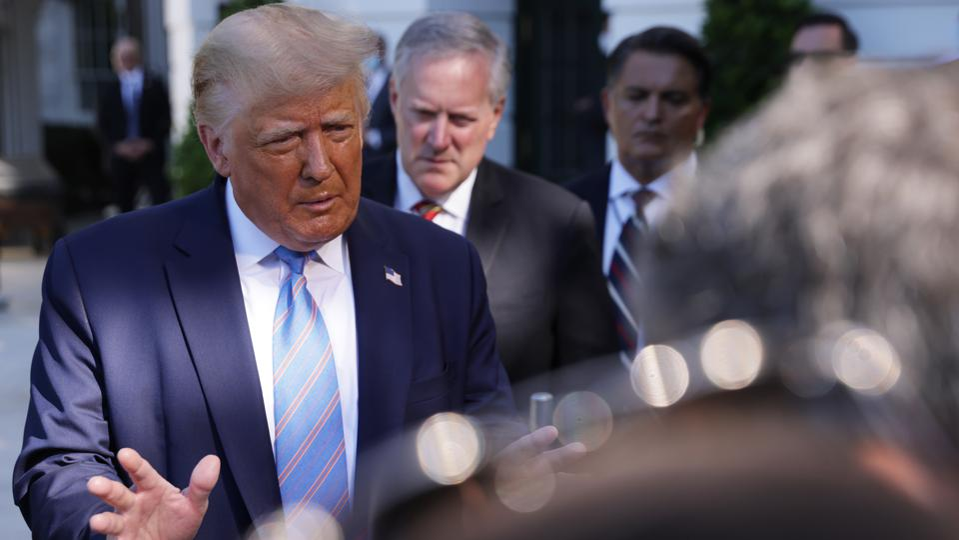 President Trump Departs White House For Texas Trip
