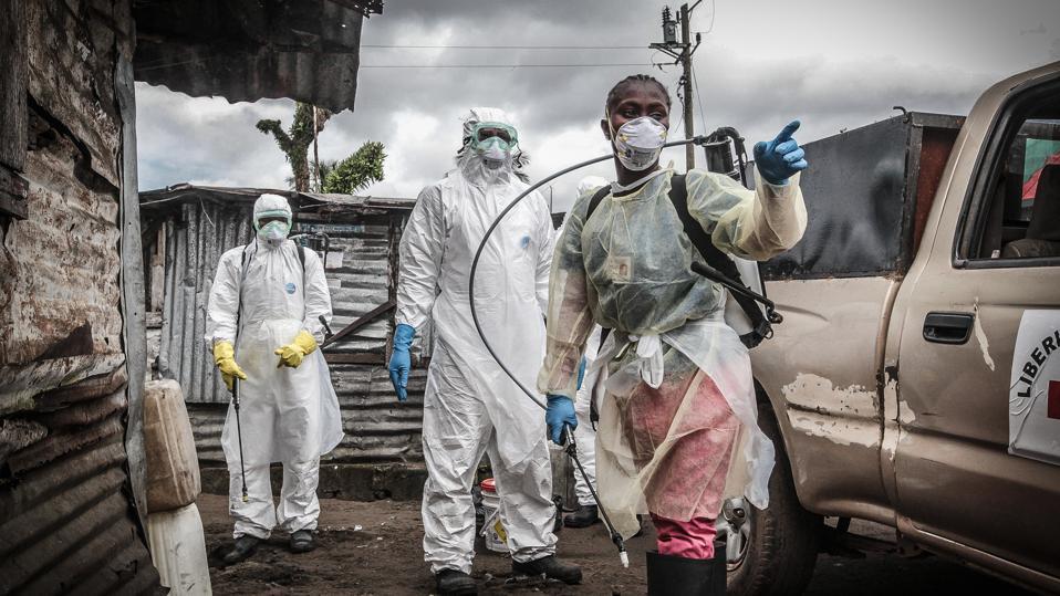 Liberian Red Cross team in Monrovia