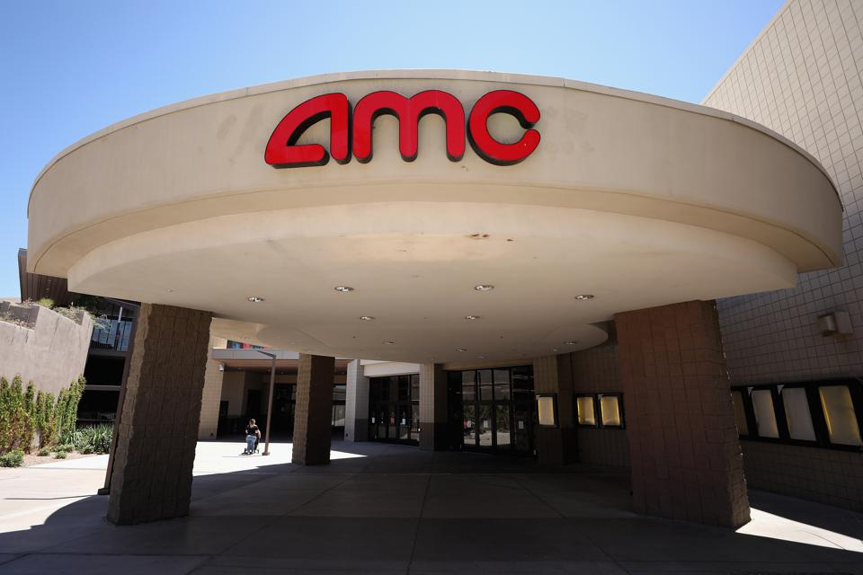 AMC Theater front entrance in Arizona