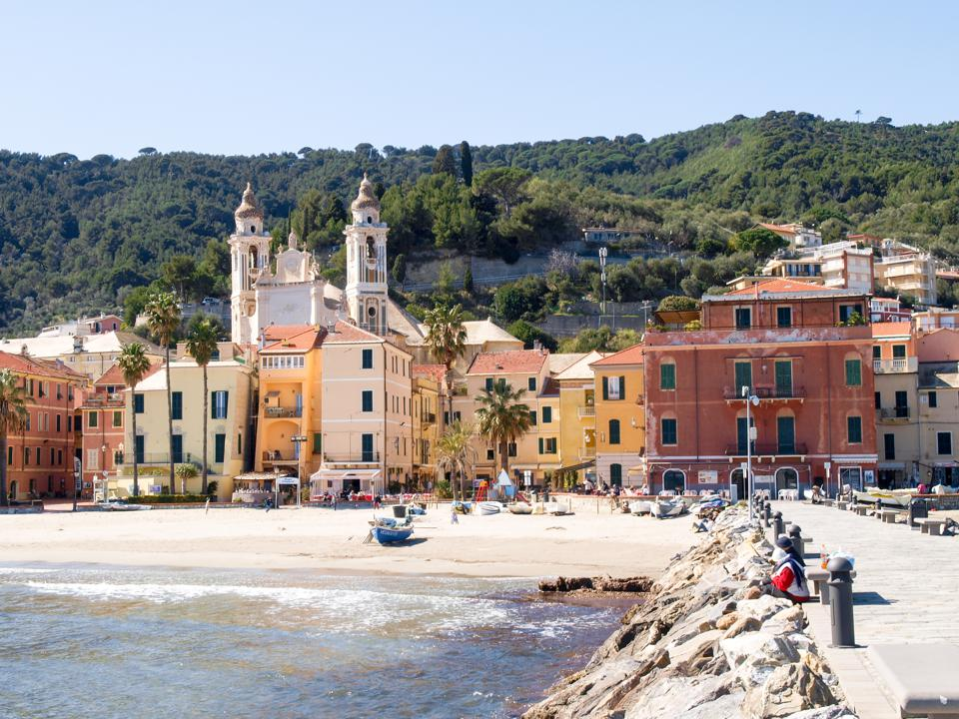 Laigueglia, view from the sea