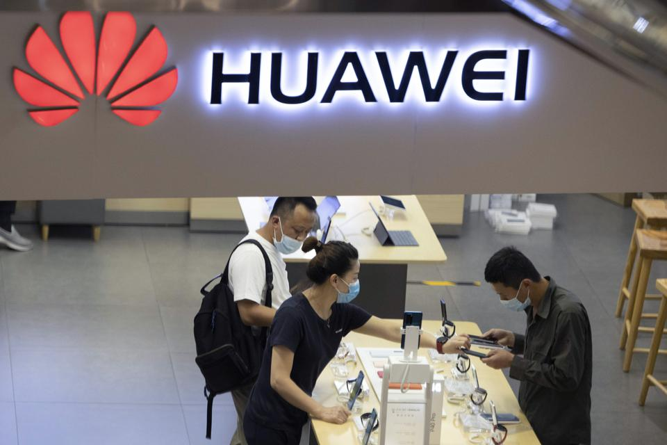 China Britain Huawei