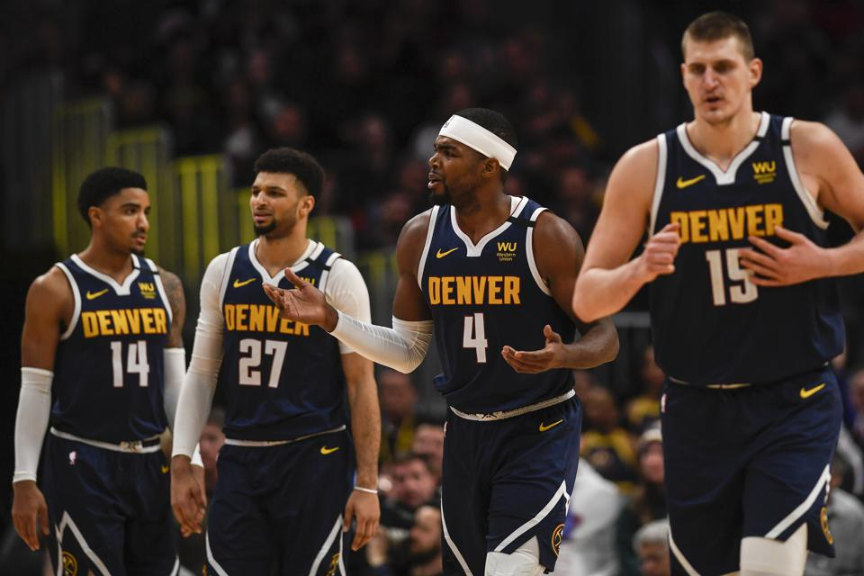 DENVER NUGGETS VS GOLDEN STATE WARRIORS, NBA REGULAR SEASON