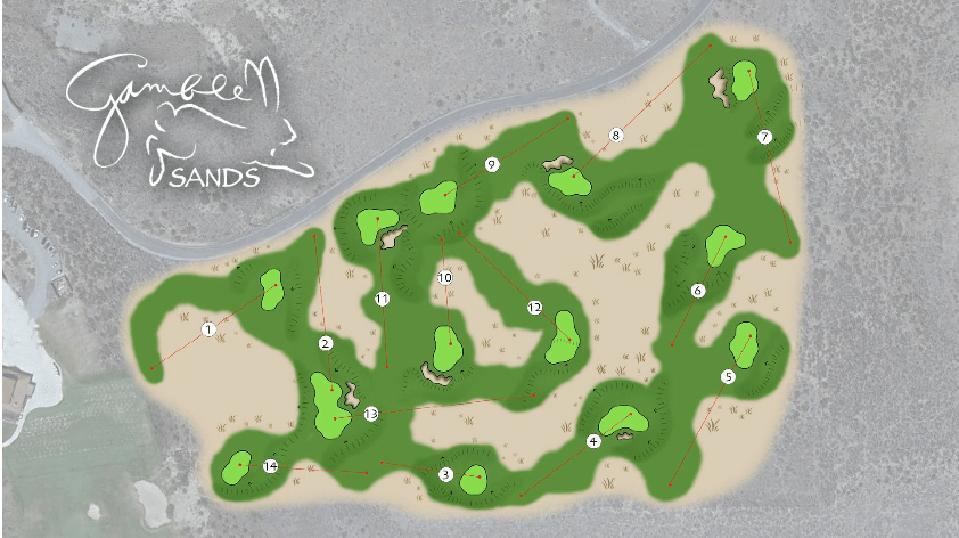 Quicksands course layout