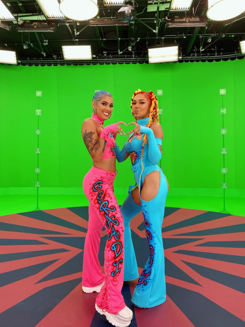 Saiyr and Emaza Gibson of Roc Nation's R&B/Hip Hop Sister Duo Ceraadi