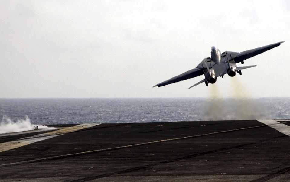 F-14 Tomcat Fighter Aircraft Launch