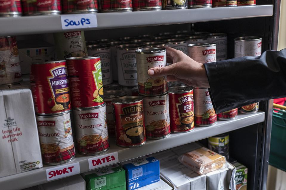 Shipping Container Becomes Food Bank In Stalybridge
