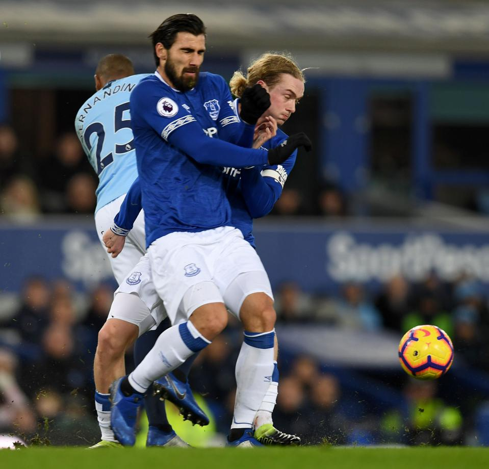 Andre Gomes and Tom Davies