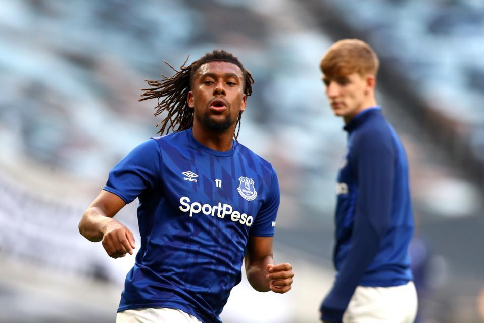 Alex Iwobi Everton recruitment