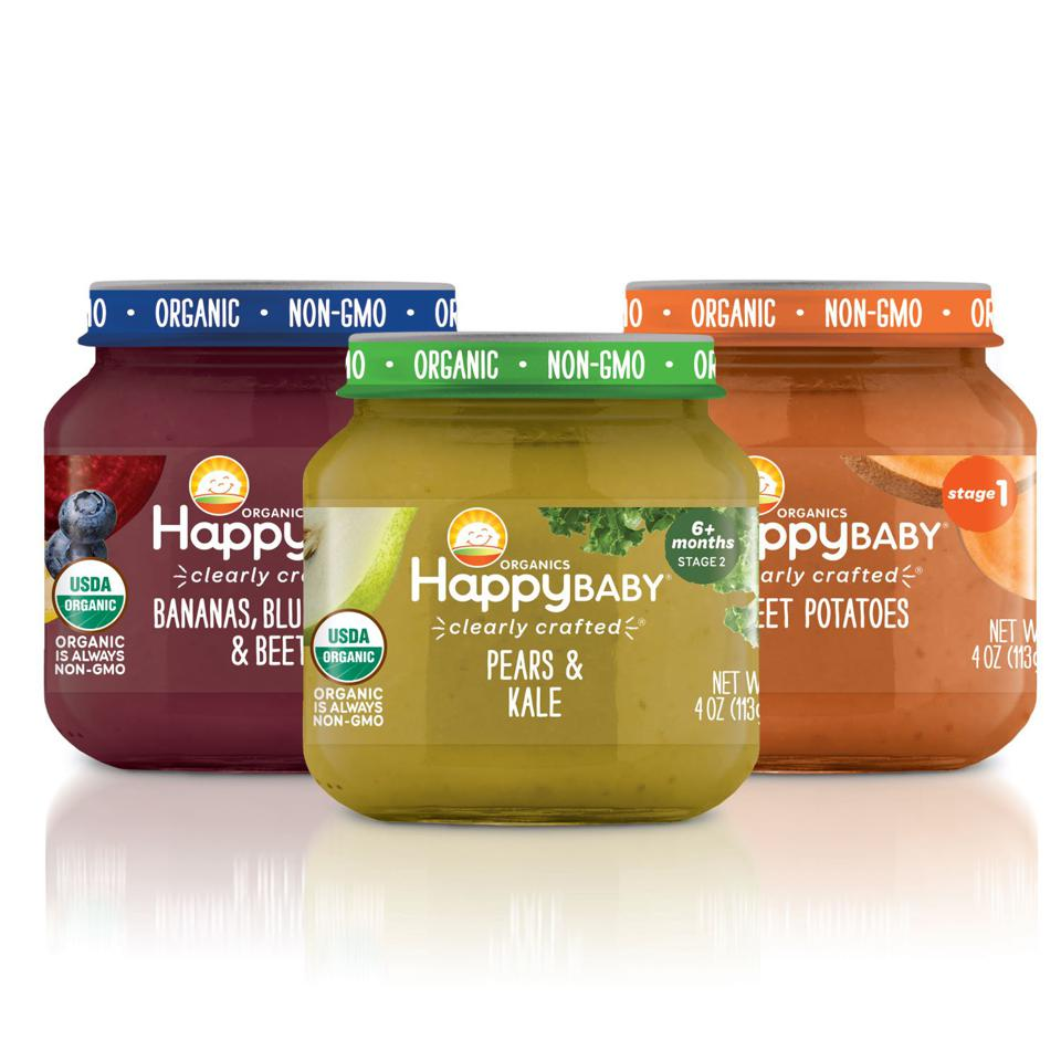 Happy Family Organics' Clearly Crafted Jars are WIC-accessible.