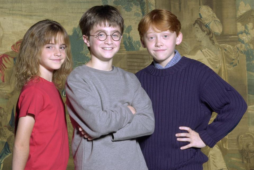 JK Rowling Kitaplar Büyük Ekran ve Radcliffe, harry potter filmler gider