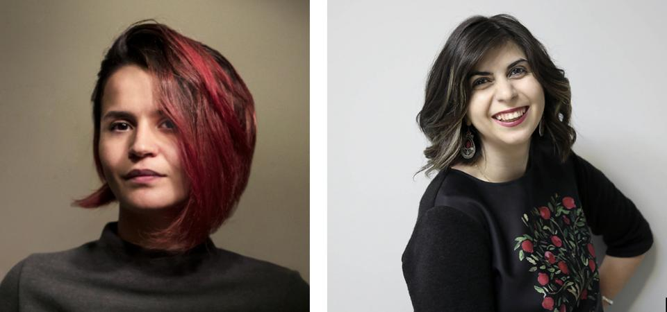 Two women's profiles - Nare Gevorgyan - Rima Sargsyan