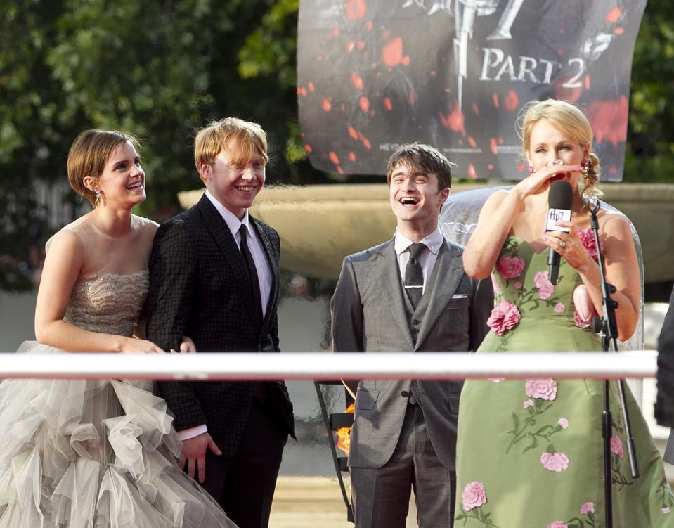 Harry Potter ve Ölüm Yadigarları: Bölüm 2 İngiltere Film Prömiyeri - Londra