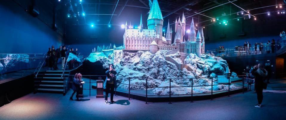 Watford'daki Warner Bros'un Harry Potter stüdyosu,