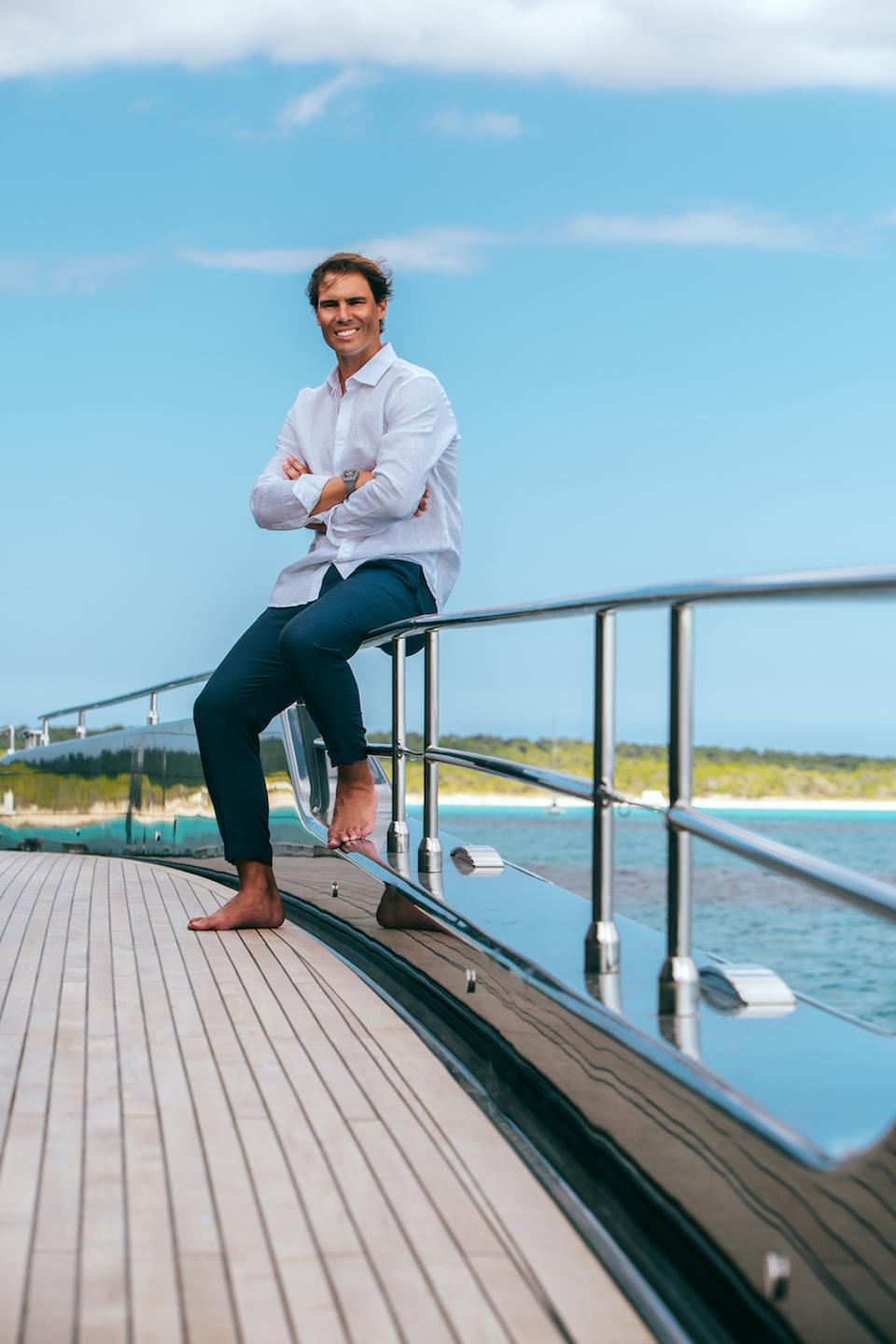 Superyacht Influencer Interview Rafael Nadal Talks Tennis And How His New Yacht Helps His Game