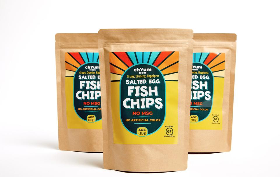 chYum salted egg fish chips
