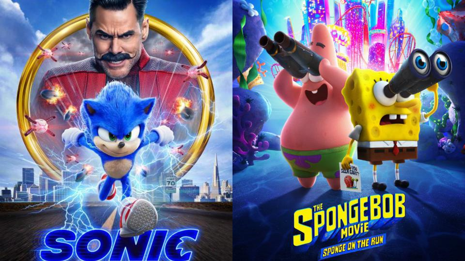 Box Office Sonic Bombs In China As Spongebob 3 Gets Canadian