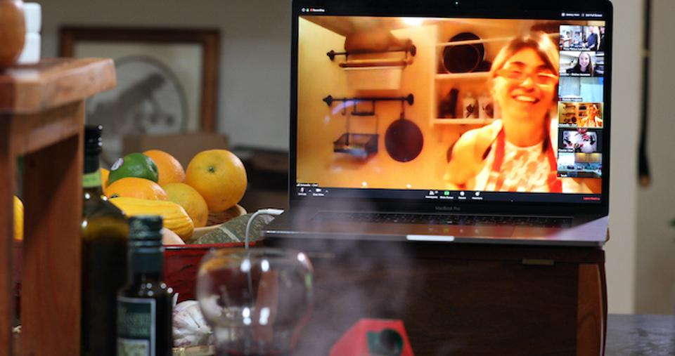 Cooking with Tuscan chef Antonella Lamagna of Cortona, Italy