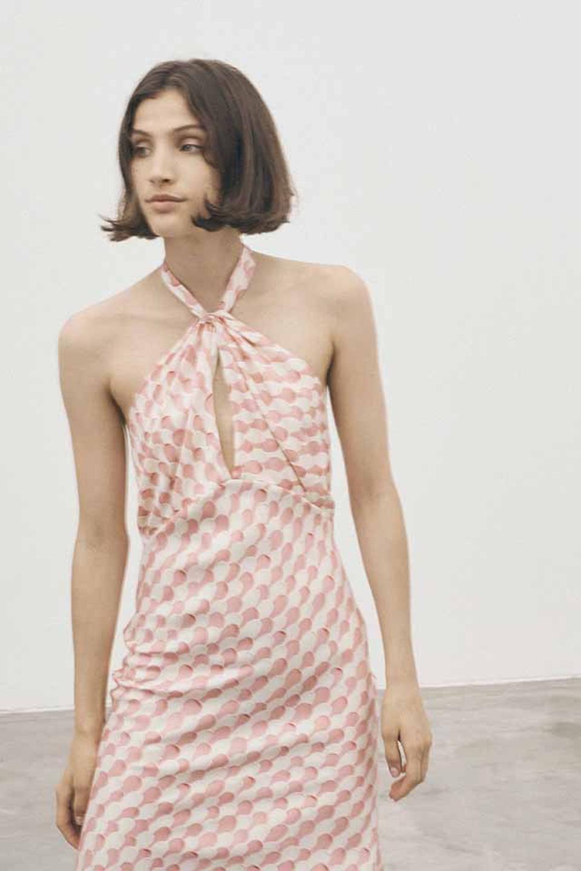 Maggie Marilyn She's Got Her Groove Back Dress in Strawberries & Cream