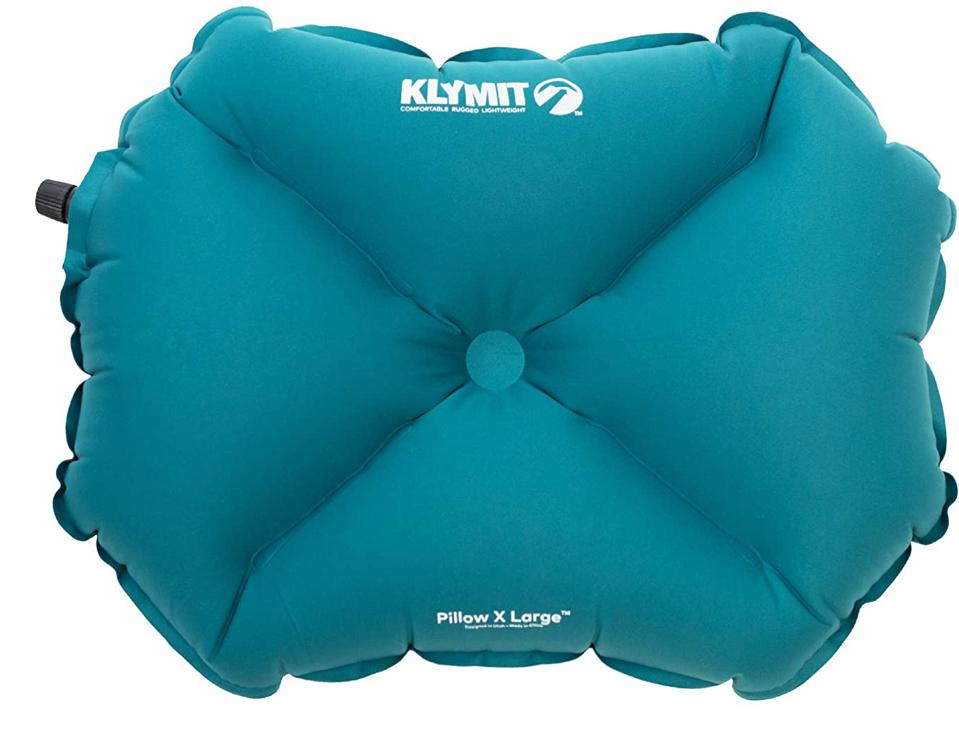 Klymit Inflatable Camp Pillow X Large, Blue