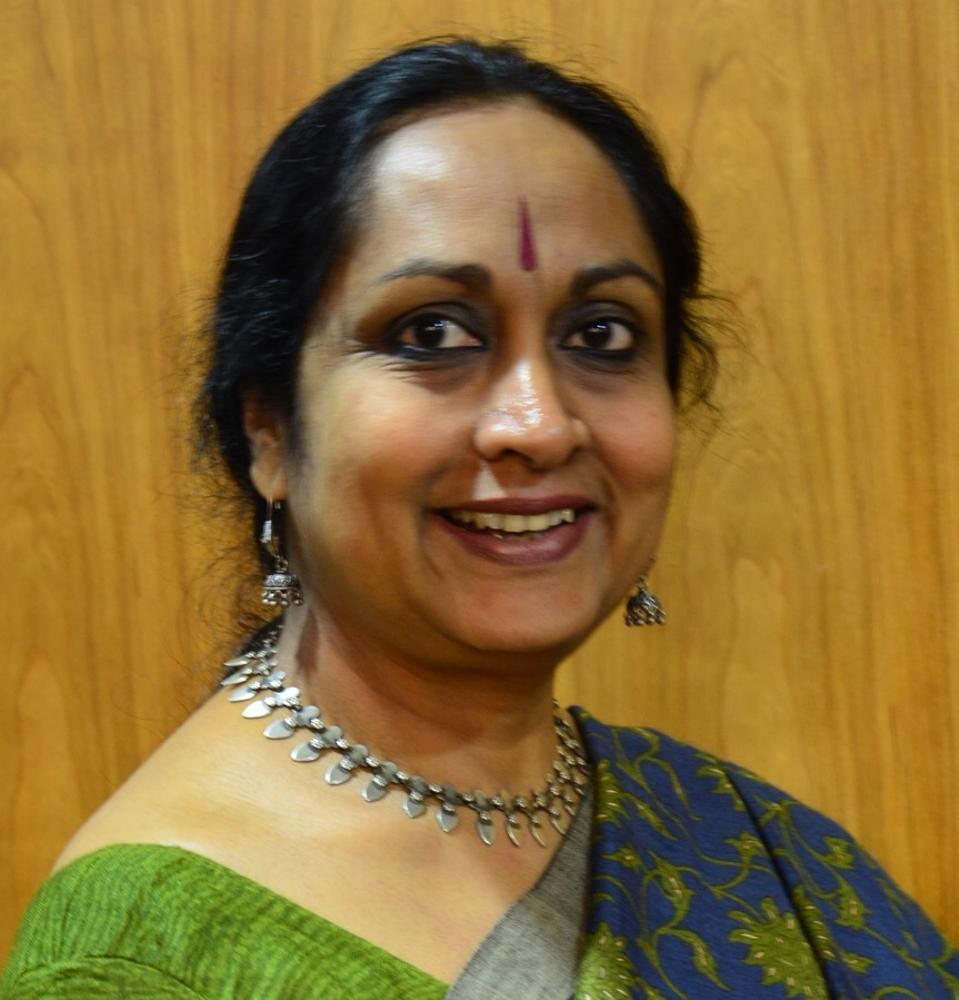 Woman in E. Indian sari...Vinodini Lulla