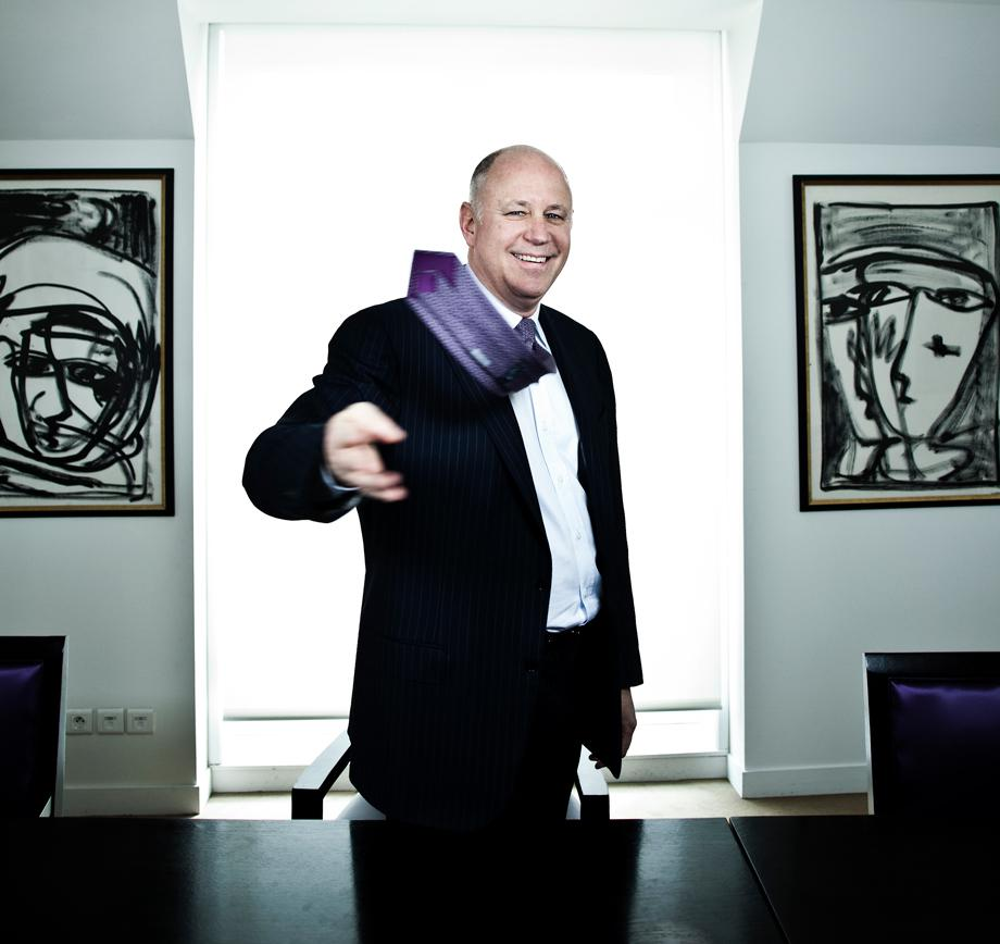 Jeff Sprecher, President and Founder, CEO, ICE (Inter Contiental Exchange), photographed in Paris (Photo by Stephane GRANGIER/Corbis via Getty Images)