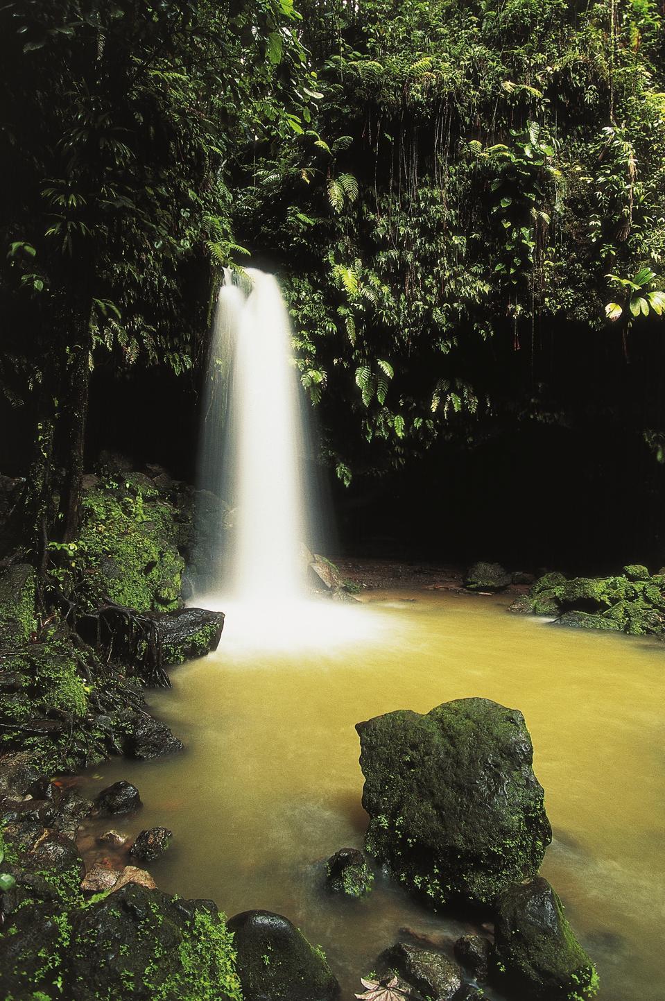 Emerald Pool Waterfall...