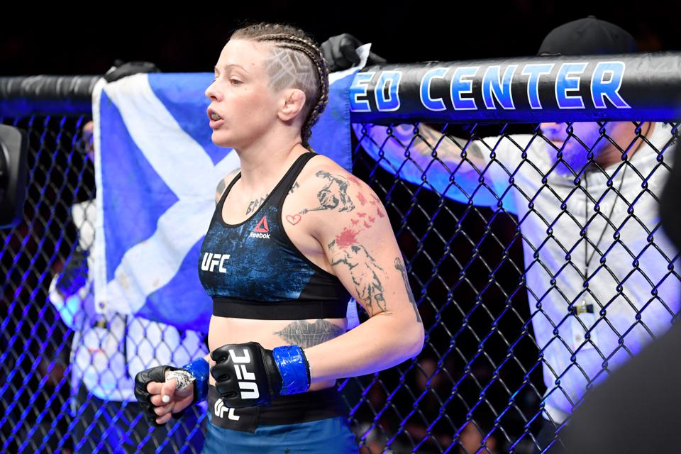 Joanne Calderwood faces Jennifer Maia in the co-main event of tonight's UFC on ESPN+ 31 fight card.