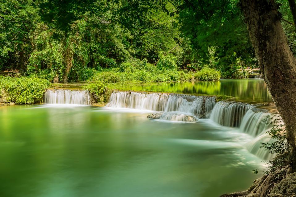 Chet Sao Noi Waterfall National Park. ( Reprocess )