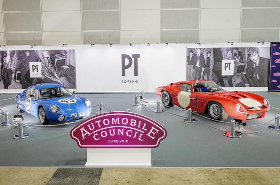An Alpine M63 and an Iso Grifo were the star attractions at the Automobile Council.