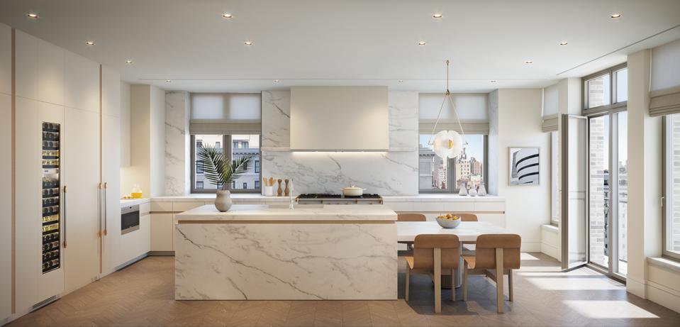 1228 Madison Avenue, New York, kitchen, interior design, Kelly Behun Studio, contemporary