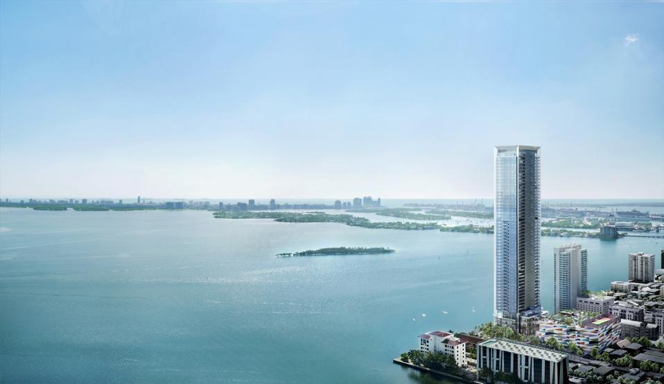Missoni Baia's Townhome, Miami, Asymptote Architecture, Biscayne, East Edgewater district