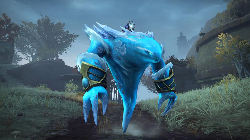 The Glacial Tidestorm mount becomes harder to get in World of Warcraft: Shadowlands.