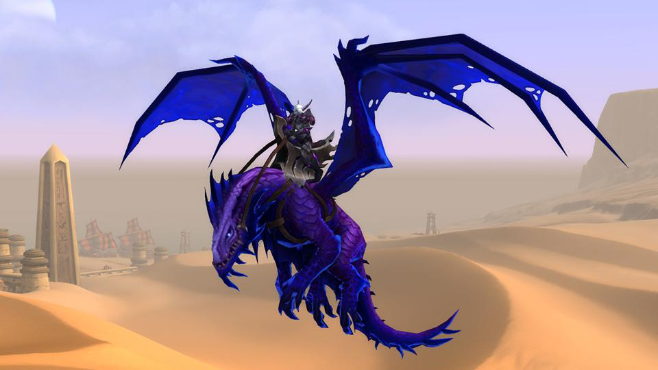 The Uncorrupted Voidwing mount will only be available until Warcraft: Shadowlands' launch.