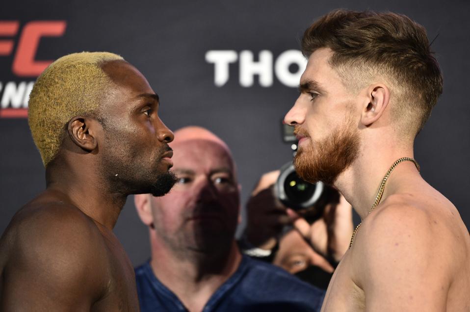 Derek Brunson and Edmen Shahbazyan meet in the main event of tonight's UFC on ESPN+ 31 fight card