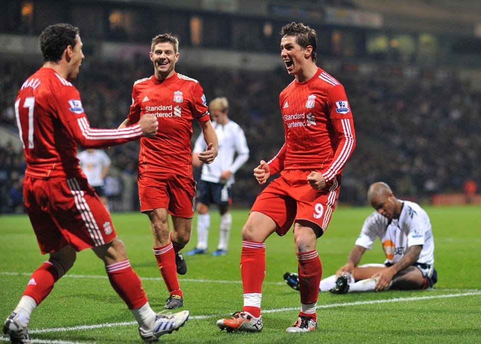 Premier League 2010 - Bolton Wanderers v Liverpool