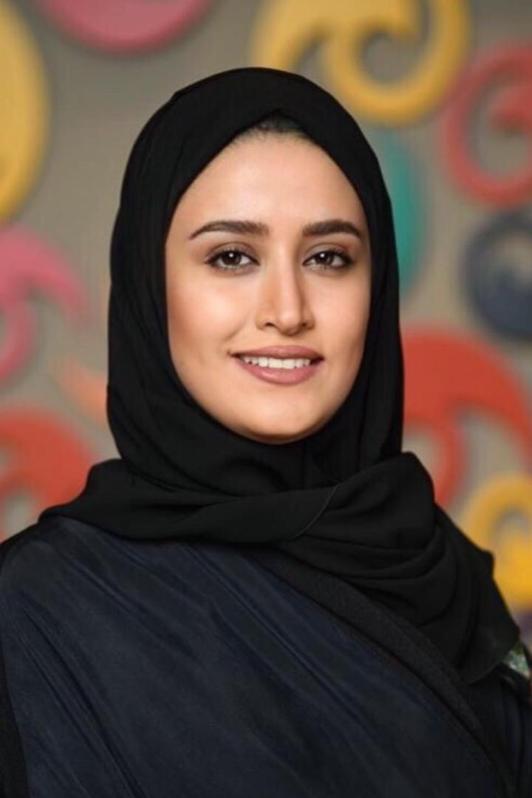A portrait of Dimah Al Sheikh