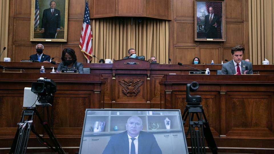 Big Tech CEO's Testify Virtually Before House Judiciary Committee