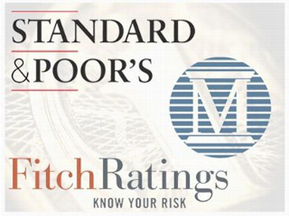 Standard & Poor's, Moody's, Fitch Ratings
